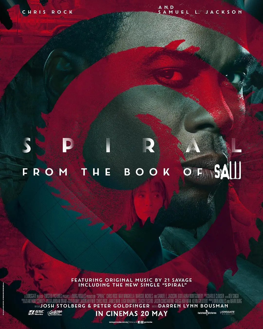 Spiral: From the Book of Saw (2021