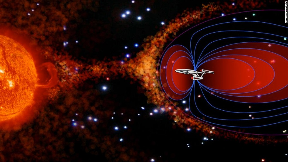 Shields up!  Scientists work to produce Star Trek deflector device