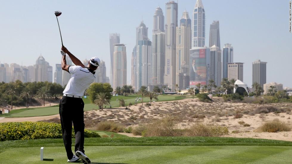 Stars turn out for Dubai Desert Classics birthday