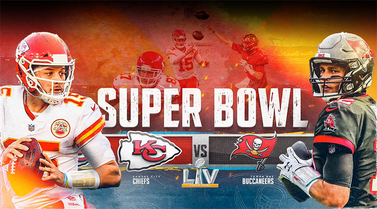 Super Bowl LV the 55th Super Bowl and the 51st modernera National Football League NFL It will be carried on radio via BBC Radio 5 Live In Germany
