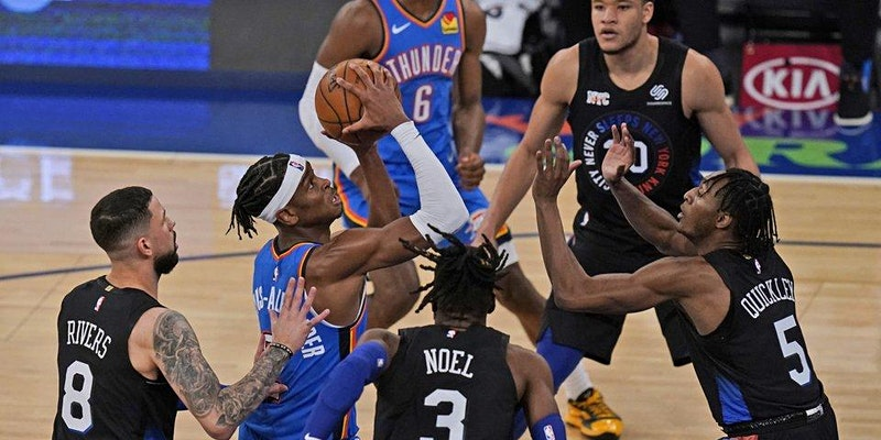 ours ago Te New York Knicks and te Oklaoma City Tunder will face off on Fans around te world can also stream te game via te NBA