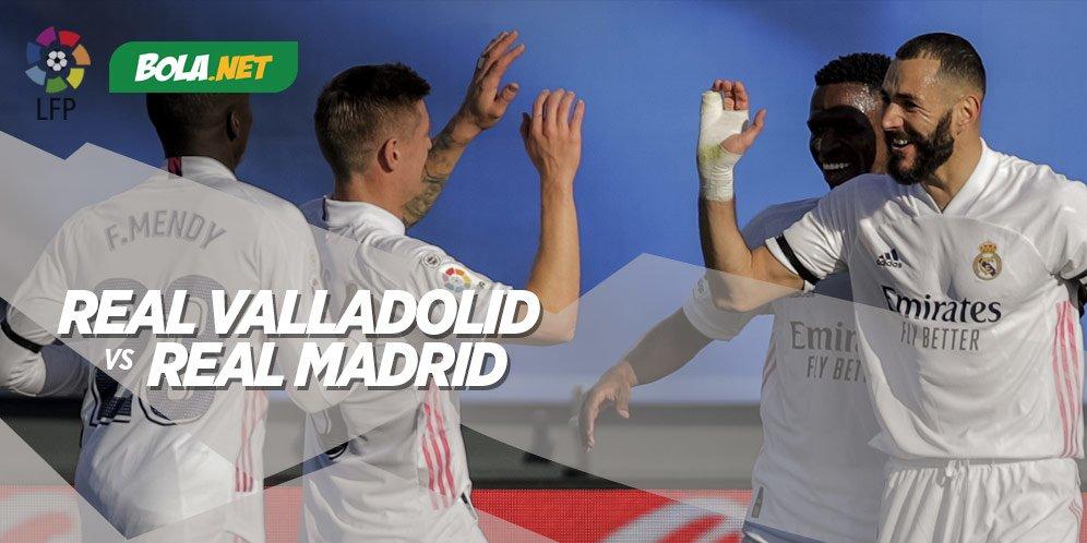 5 Alasan Real Madrid Menang Telak atas Real Valladolid