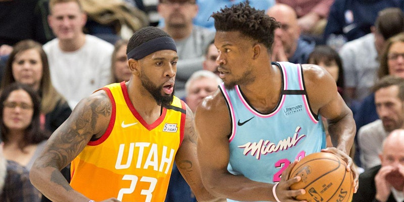 The Utah Jazz will play their first game of a four game road trip WATCH LIVE Pleasant Grove Davis Jimmy Butler of the Miami Heat Photo b