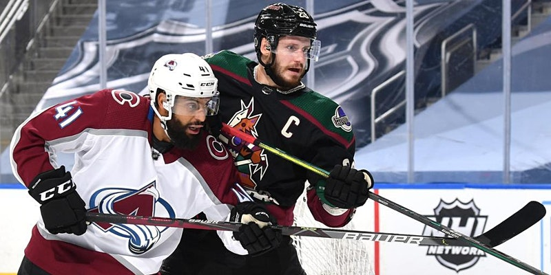 and match details Austin Strand fined for actions in Kings game against Coyotes Iafallo scores twice Kings beat Coyotes Colorado Avalanche