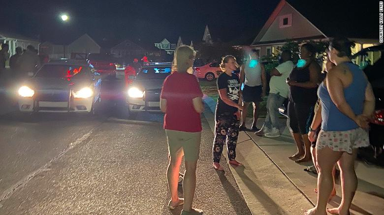 ghbors and police gather after the group arrived at the Shepards home in Pender County on May 3. Yet Monica Shepard remai